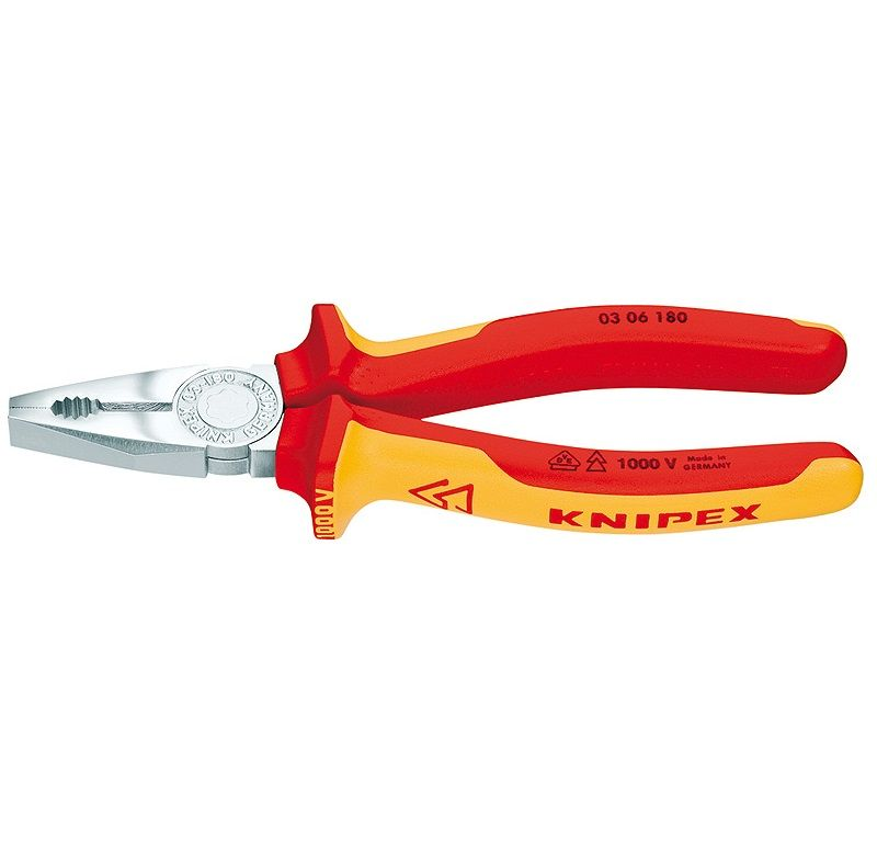 KNIPEX PENSE 03 06 180 MM VDE